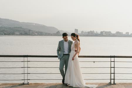 雙人美式婚紗