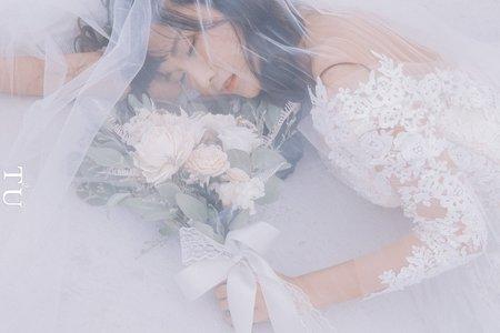 韓式新娘造型作品