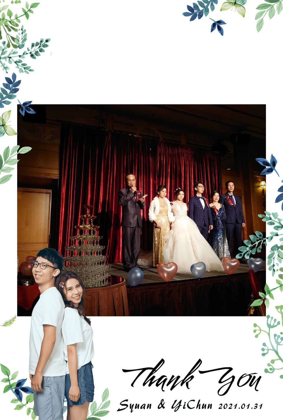 拍拍印 LineIn,分享~婚禮拍拍印
