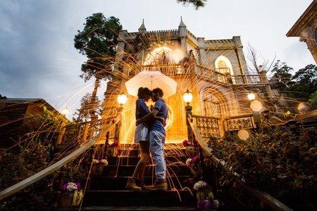 宸謙❤育辰 | 婚紗照 | 浪漫幸福影像婚紗 |莫內秘密花園