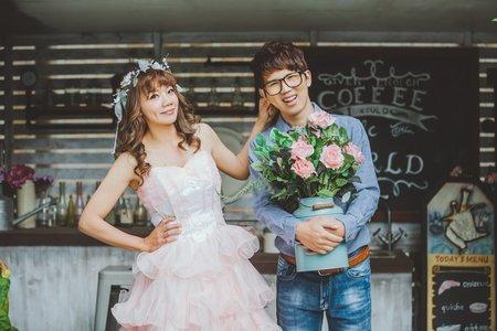 家駿❤紫瀅 | 婚紗照 | 浪漫幸福影像婚紗 | 愛麗絲的天空