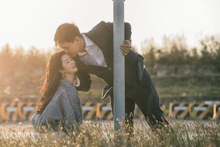客樣 | 婚紗照 | 浪漫幸福影像婚紗 | 都會公園 | 台中港