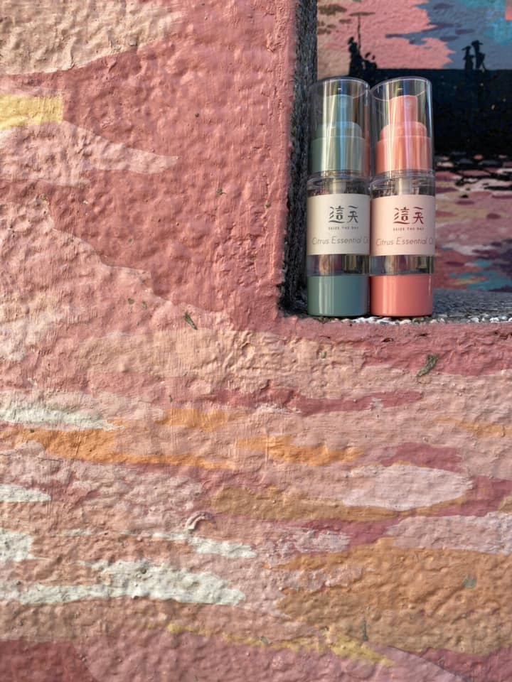 婚禮小物 - 真空瓶柑橘酒精噴霧作品