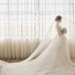 華納婚紗-桃園婚紗,疫情不怕,棚內拍攝也超美的