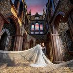 華納婚紗-台中婚紗,爆美的婚紗