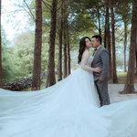 ,棉花糖女也能當漂亮新娘💕
