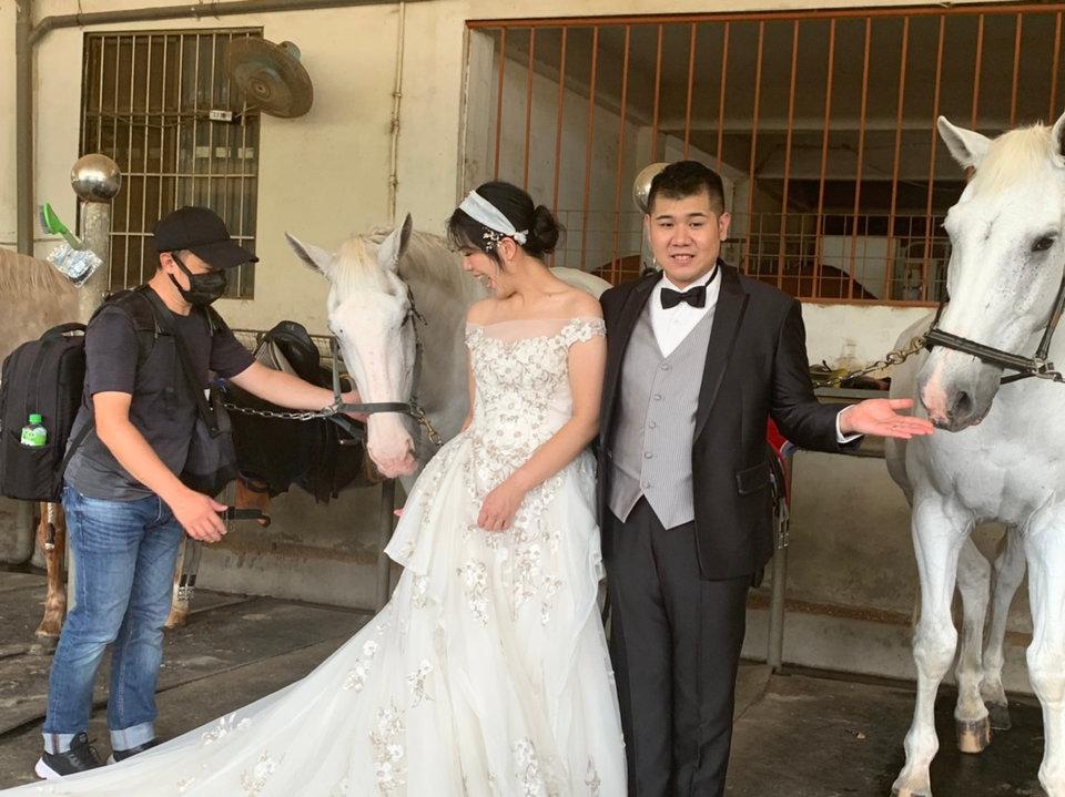 ONLY YOU 唯你婚紗攝影,舒適的拍攝氛圍