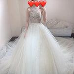Charming.Lace迷人的手工訂製婚紗,國外設計師禮服就是值得穿一次